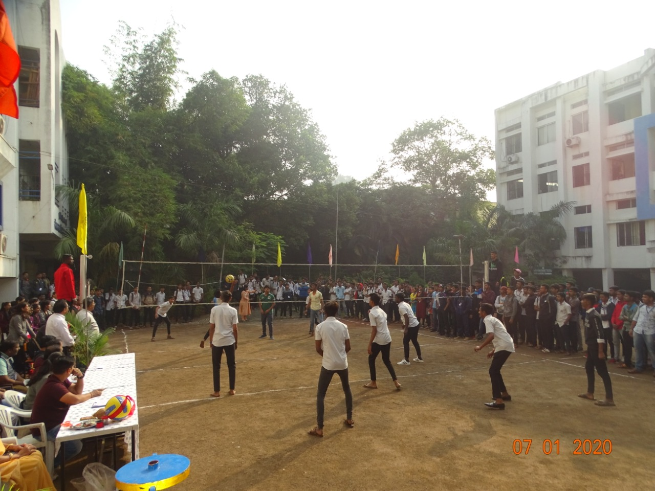 Inter class Sports Competition 2019-20 held on 7th and 8th Jan 2020